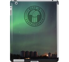 Green Northern Lights iPad Case/Skin