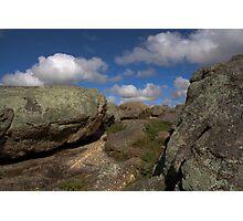 Rocks & Clouds Photographic Print