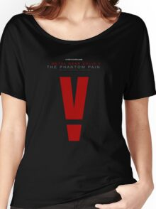 Metal Gear Solid V: The Phantom Pain logo Women's Relaxed Fit T-Shirt