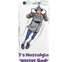 80's Nostalgia Cartoon Inspector Gadget T-Shirt iPhone Case/Skin