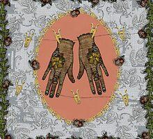 Pegged Hands by sarajaynemartin