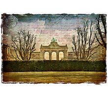 Parc Cinquantenaire, Belgium – Forgotten Postcard Photographic Print