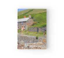 Holiday Cottage Hardcover Journal