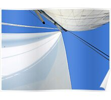 Sailing - a different perspective of normal Poster