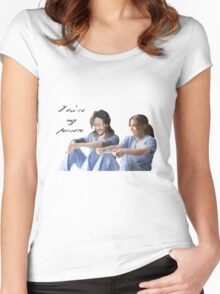 You're my Person Women's Fitted Scoop T-Shirt