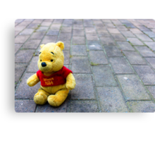 Pooh Bear Canvas Print