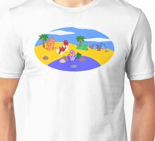 70 Million Years B.C. (Before Clothes) Image Only Unisex T-Shirt