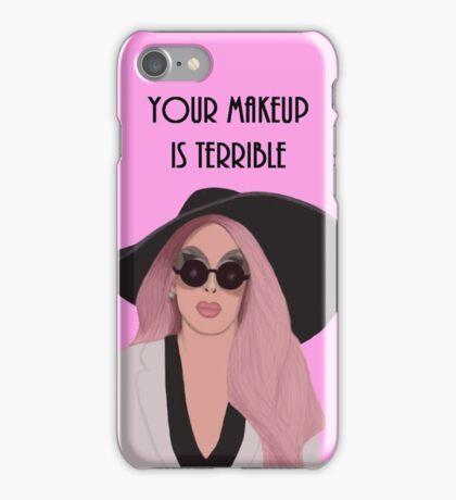 Your Makeup is Terrible Alaska Thunder  iPhone Case/Skin