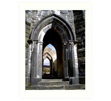 Thru the Arches Art Print