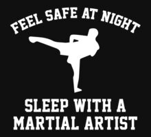 Sleep With A Martial Artist by AmazingVision