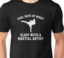 Sleep With A Martial Artist Unisex T-Shirt