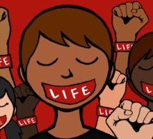 Bound 4 LIFE - Be A Voice Sticker