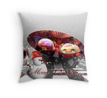 Have a Magical Merry Christmas Throw Pillow