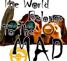The world belongs to the mad by scoutinspace