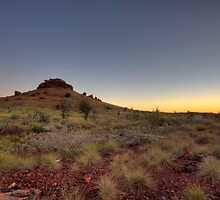 Spinifex Sunset by Artimagery