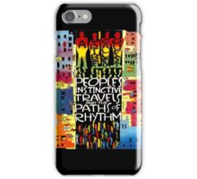 TRIBE CALLED QUEST atcq people's instinctive travels and the paths of rhythm iPhone Case/Skin