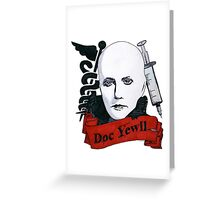 Doc Yewll Greeting Card