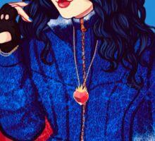 Evie, the evil queen daughter Sticker