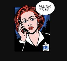 FBI Agent // Scully XFiles Lichtenstein  Unisex T-Shirt