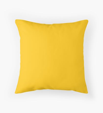 Mikado Yellow  Throw Pillow