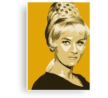 Janice Rand from Star Trek TOS (Stylized) Canvas Print