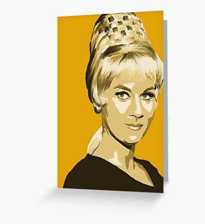 Janice Rand from Star Trek TOS (Stylized) Greeting Card