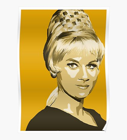 Janice Rand from Star Trek TOS (Stylized) Poster