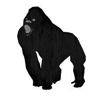 Black Gorilla - Primate For Life by Spencer Tymchak