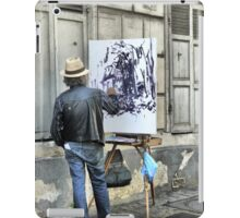A Paintbrush in Montmartre iPad Case/Skin