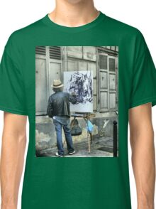 A Paintbrush in Montmartre Classic T-Shirt