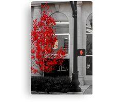 100 Steps to RED Metal Print