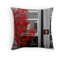 100 Steps to RED Throw Pillow