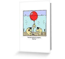 Da boss Greeting Card