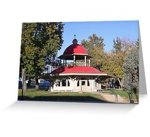 Transfer House, Decatur IL Greeting Card