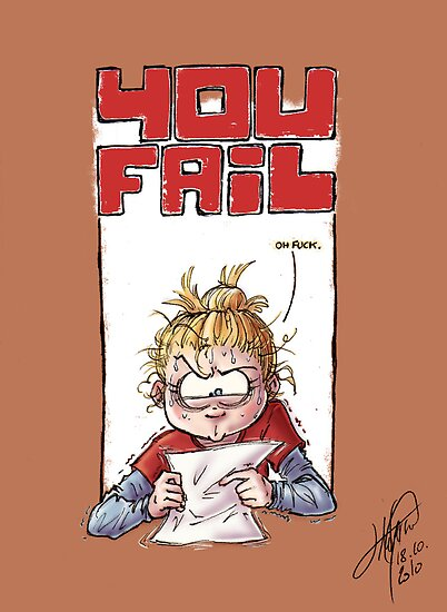 You Fail by Jillustrations