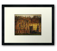 The Ruins Of Rievaulx Abbey Framed Print