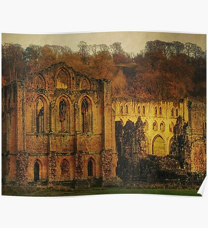 The Ruins Of Rievaulx Abbey Poster