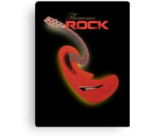 flamenco rock Canvas Print