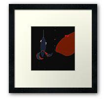 fish friday Framed Print