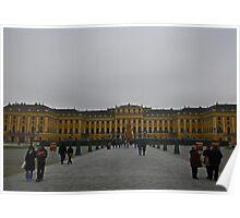 Schönbrunn Palace Christmas Time. Poster