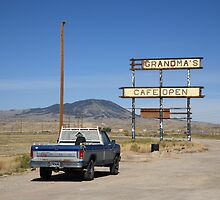 Rawlins, Wyoming - Grandma's Cafe by Frank Romeo
