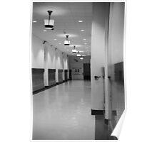 Hallway - City Hall - Philadelphia Poster