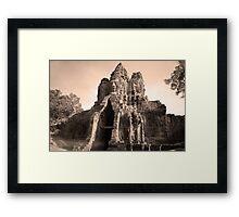 Angkor Thom Framed Print