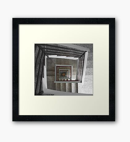 Vortex. Framed Print