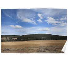 Yellowstone Landscape Poster