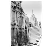 City Hall & Liberty One - Philadelphia Poster