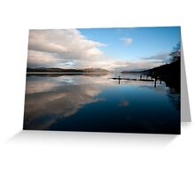 Windermere Reflections Greeting Card
