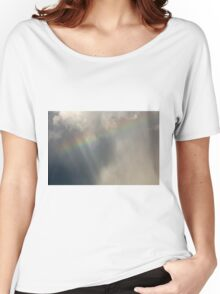 Rainbow Sky Women's Relaxed Fit T-Shirt