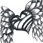 Heart  Wings by AlmaAzul