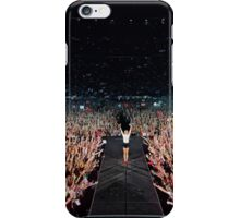 Taylor Swift on stage iPhone Case/Skin